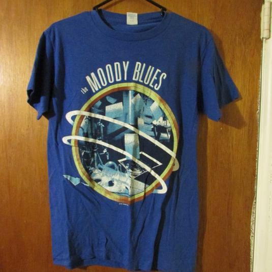 Vintage Moody Blues Band T-Shirt 80's