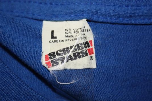 Vintage 80's Brunswick Wekiva Lanes T-shirt Screen Stars