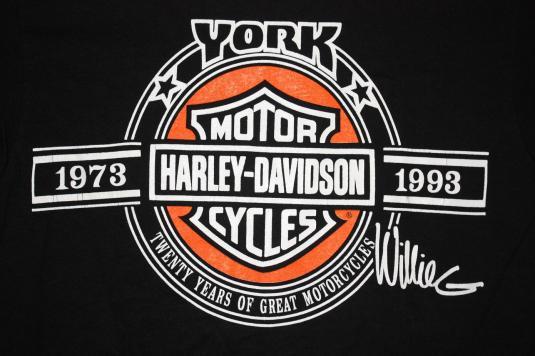 Vintage York PA Harley Davidson Factory 1993 T-Shirt