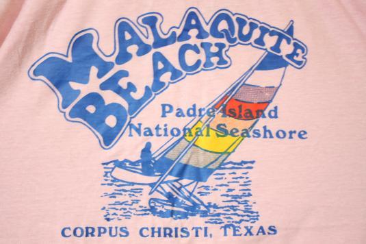 Vintage Malaquite Beach Corpus Christi Texas Tank T-Shirt
