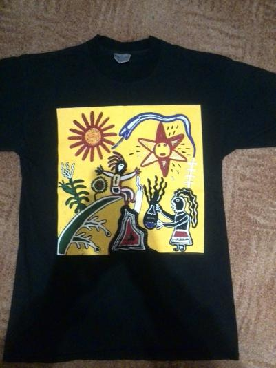 Vintage Midnight Oil Earth and Sun and Moon T-shirt 1993