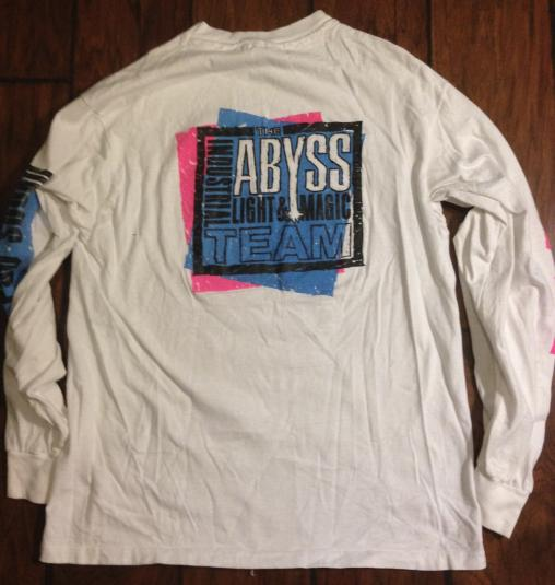 ILM The Abyss crew shirt