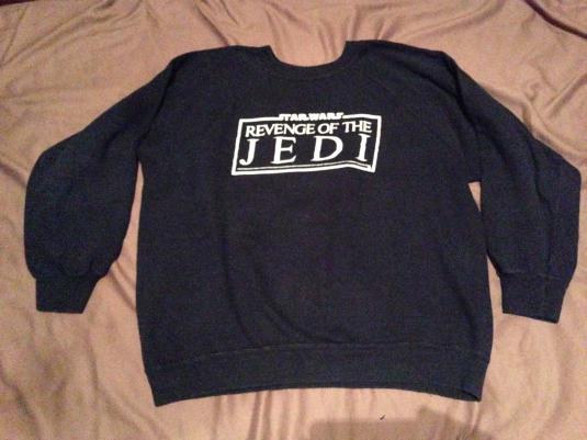 ILM Revenge of the Jedi crew sweatshirt.