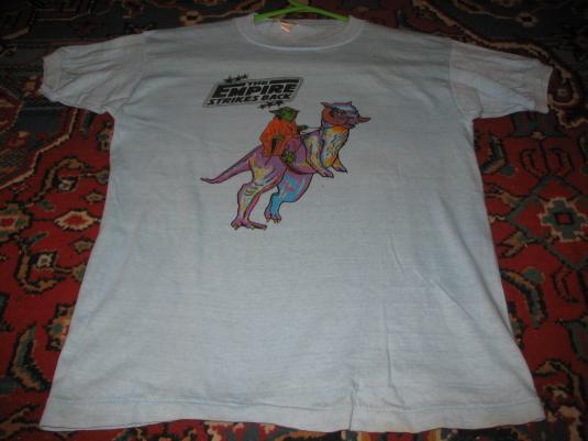Weird Star Wars Empire Strikes Back t-shirt.