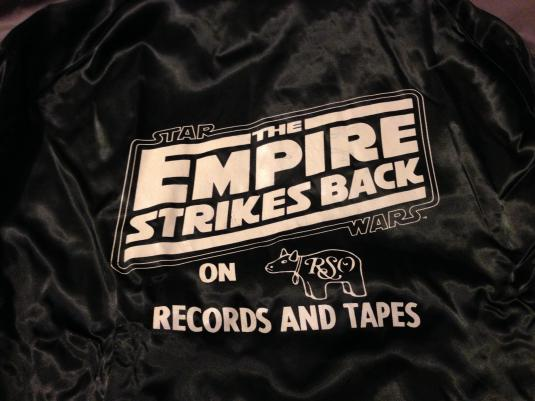 The Empire Strikes Back Advertising Jacket.