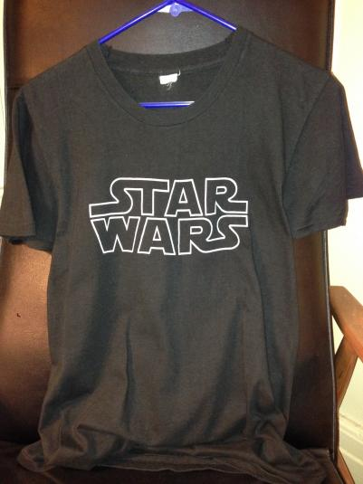 STAR WARS record promo shirt.