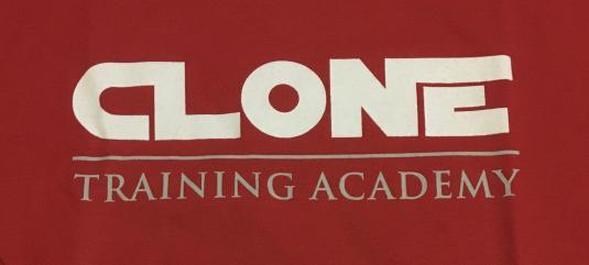 Clone Academy ILM crew shirt