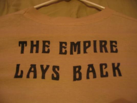 The Empire Strikes Back ILM crew shirt.