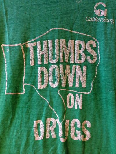 Thumbs Down on Drugs!