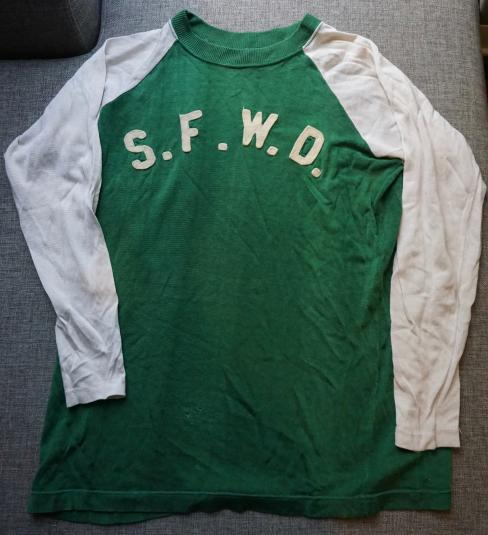 Vintage S.F.W.D. mystery shirt