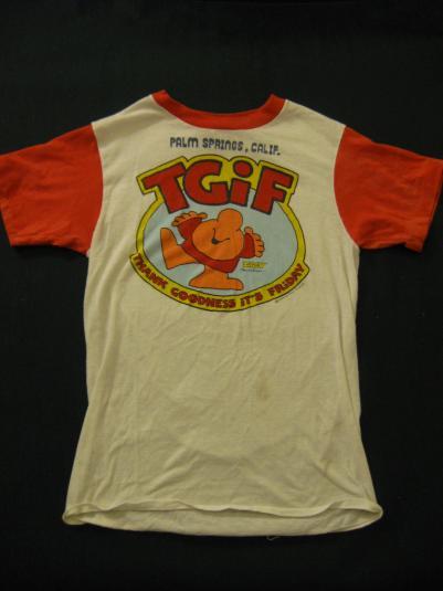 Ziggy Thank God It's Friday t-shirt.