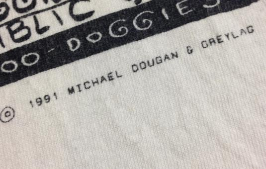 Bad Doggie cartoon shirt