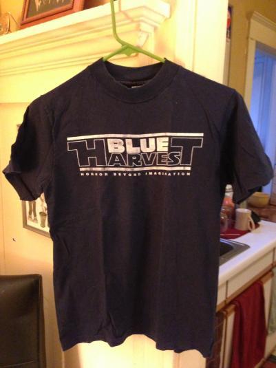 Rare 1982 Return of the Jedi - Blue Harvest t-shirt.