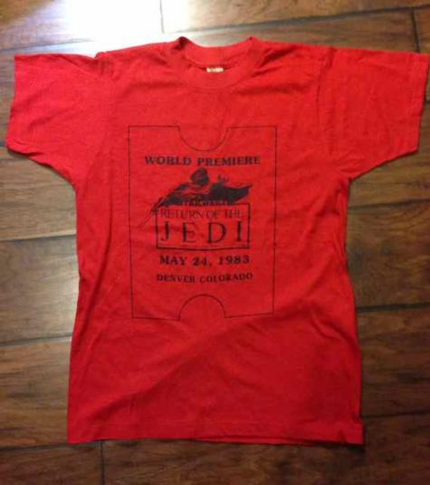 Return of the Jedi movie promotional giveaway
