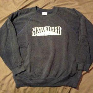 Skywalker Ranch sweatshirt.