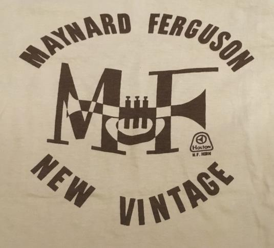 Maynard Ferguson MTFBWY promo shirt
