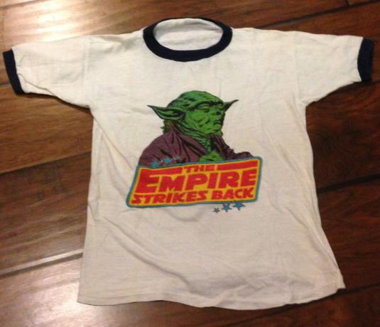 Empire Strikes Back bootleg Yoda shirt