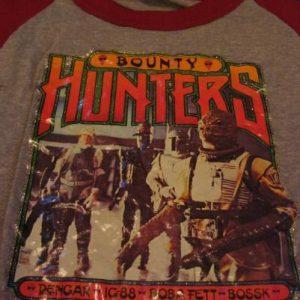 Star Wars The Empire Strikes Back Bounty Hunters shirt.