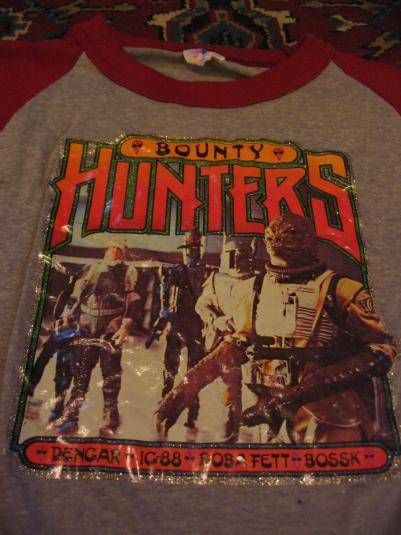 Star Wars The Empire Strikes Back Bounty Hunters shirt.