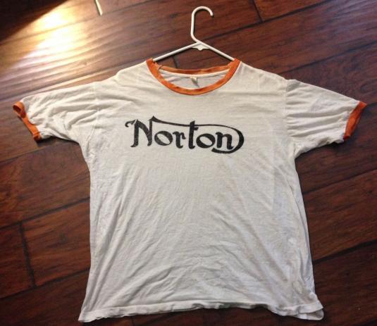 Norton Motorcycle shirt