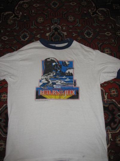 Atari Return of the Jedi video game t-shirt.