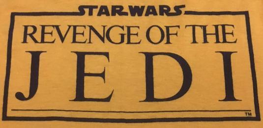 Revenge of the Jedi shirt
