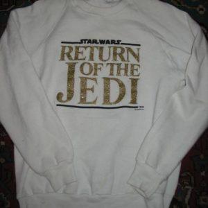 Return of the Jedi sweatshirt.