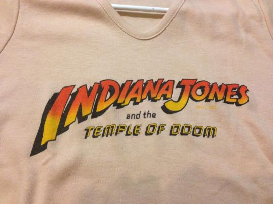 ILM Indiana Jones and the Temple of Doom crew shirt