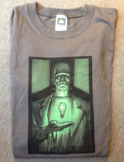 Industrial Light and Magic Frankenstein's monster crew shirt