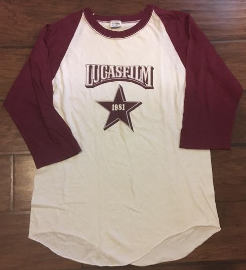 "Lucasfilm ""1981 Star"" crew shirt"