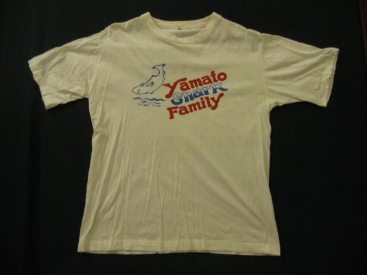 Yamato Shark Family t-shirt.