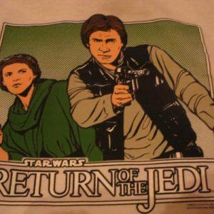 Star Wars Return of the Jedi t-shirt.