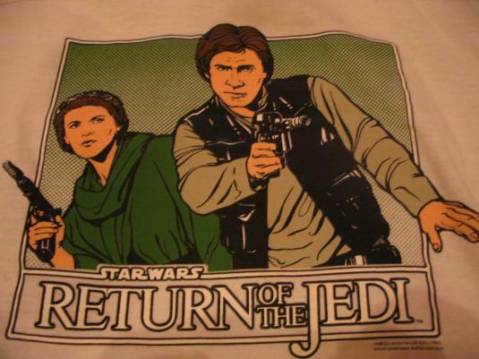 Star Wars Return of the Jedi t-shirt.