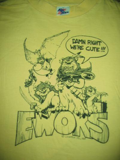 "Return of the Jedi ""Ewoks"" ILM crew shirt."