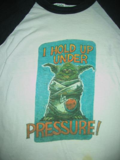 "Star Wars Return of the Jedi ""Crazy Yoda"" ILM crew shirt."