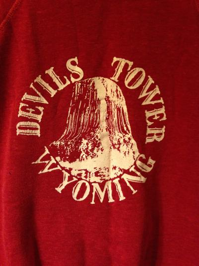 Devils Tower Wyoming sweatshirt. Close Encounters crew gift?