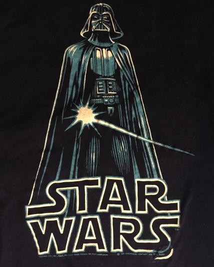 Vintage Star Wars Vader shirt