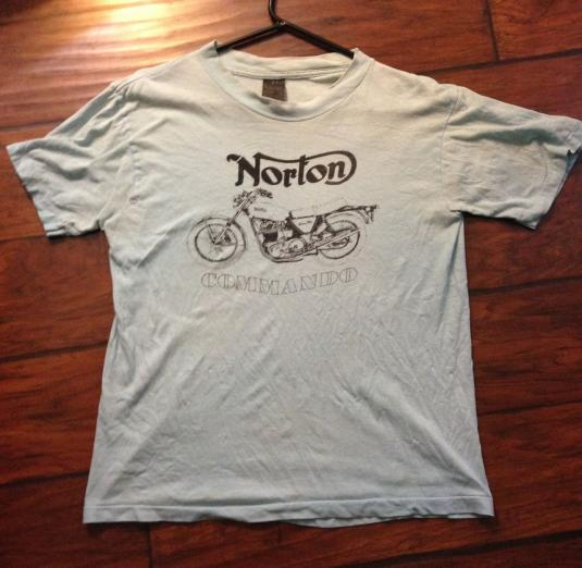 Norton dealership shirt