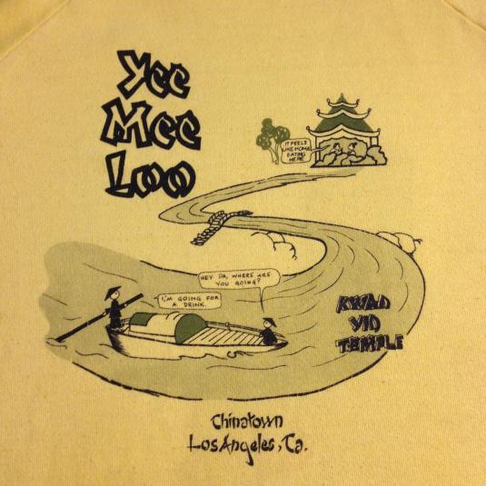 Yee Mee Loo – Kwan Yin Temple Bar sweatshirt.