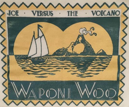 Joe Versus The Volcano crew shirt.
