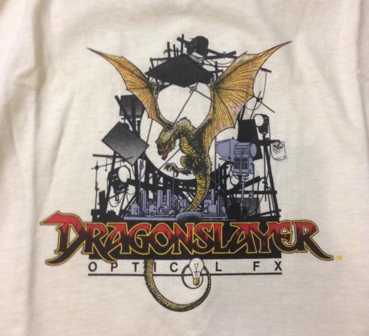 ILM Dragonslayer Optical FX crew shirt