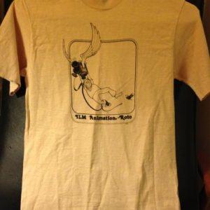 Rare Industrial, Light, & Magic Animation Rotoscope shirt.