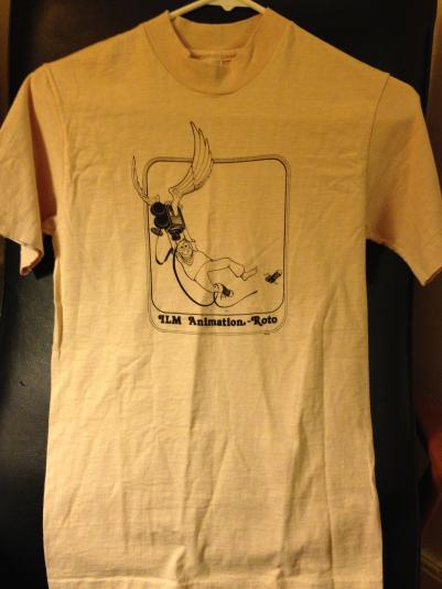 Rare Industrial, Light, & Magic Animation Rotoscope shirt.