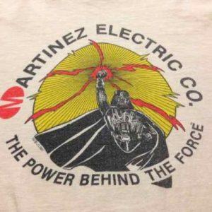 Rare Martinez Electric Co. Return of the Jedi ILM crew shirt