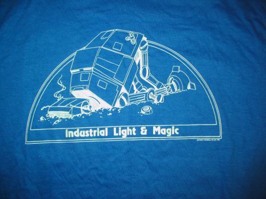 Industrial Light & Magic Empire Strikes Back crew shirt.