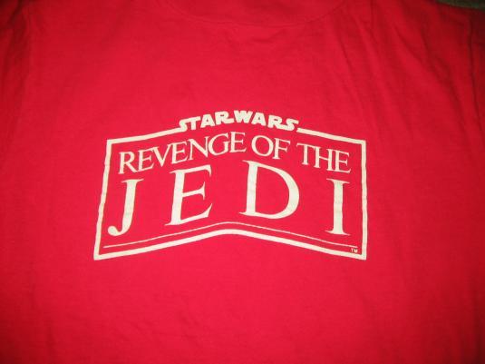 ILM Revenge of the Jedi crew shirt.
