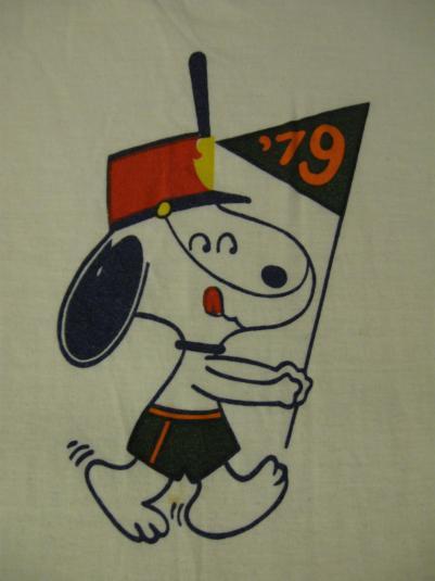 Snoopy t-shirt.