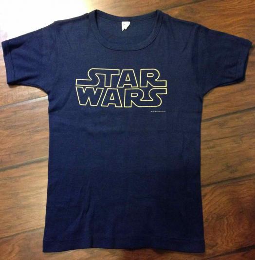 Star Wars promotional t-shirt