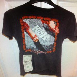 Kinks Low Budget T-Shirt 1979