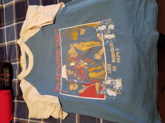 Fleetwood Mac 1979 Tusk Tour Shirt